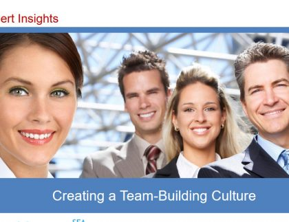 Creating a Team Building Culture 1
