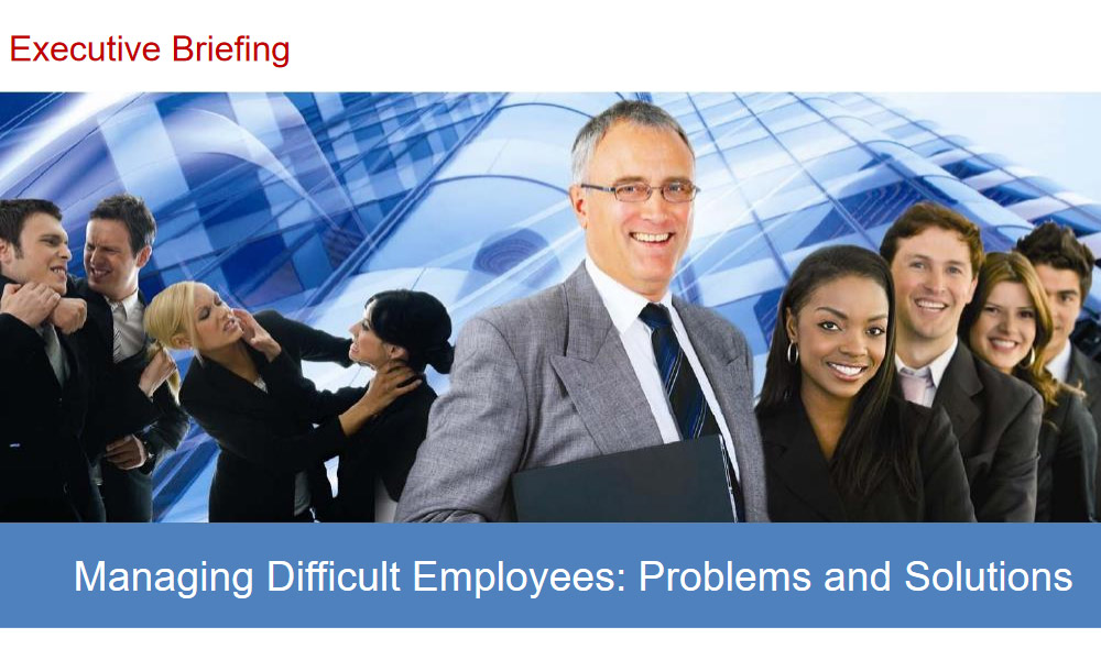 Managing Difficult Employees 1