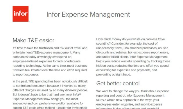 TRG T&E expense Management technology services