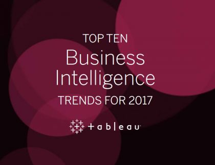 Top 10 trends in Business Intelligence for 2017 2