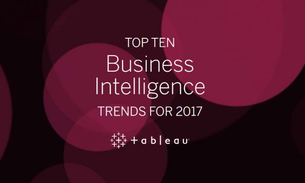 Top 10 trends in Business Intelligence for 2017 1