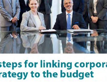 6 Steps for linking Corporate Strategy to the Budget 5