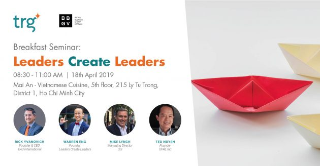 Breakfast Seminar: Leaders Create Leaders 2