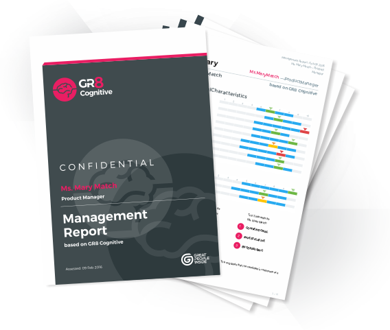 GR8 Cognitive Sample Report