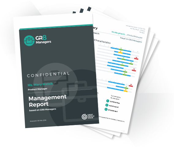 GR8 Managers Sample Report