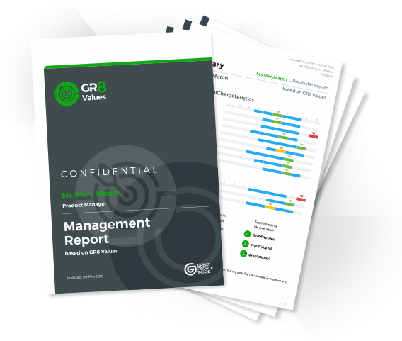 GR8 Values Sample Report