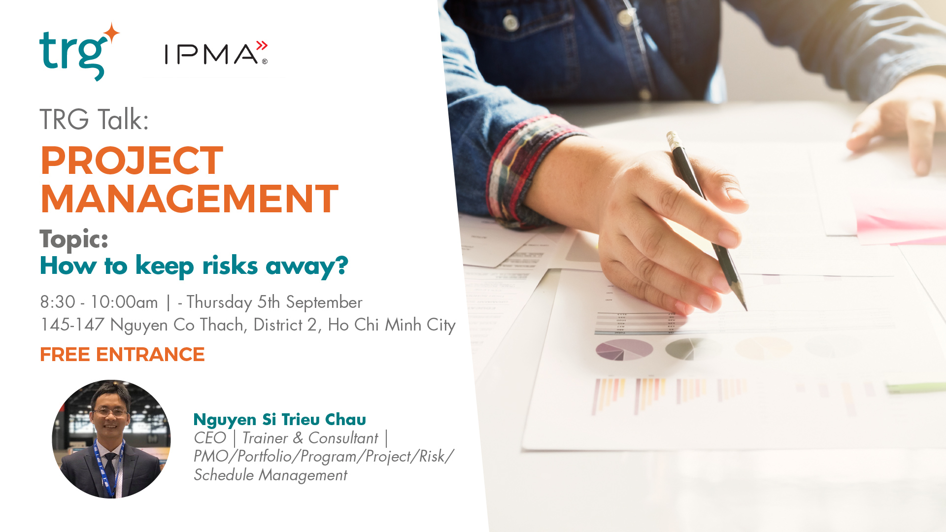 TRG Talk - Project Management: How To Keep Risks Away? 1