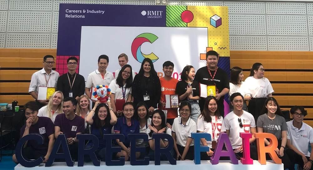 RMIT Career Fair 2019 with TRG Danish interns