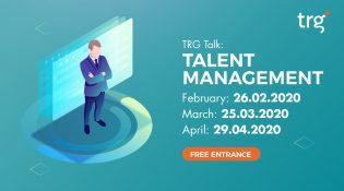 TRG Talk: Talent Management- March 2020 3