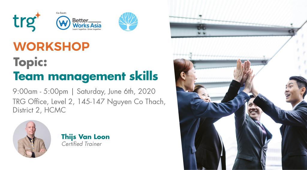 WORKSHOP: Team Management Skills 1