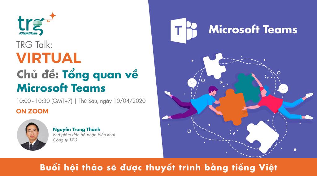 Tổng quan về Microsoft Teams 1