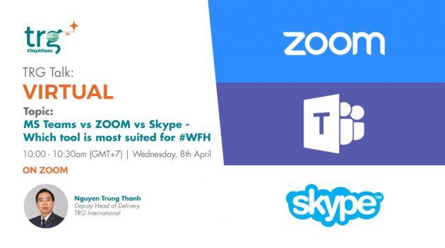 TRG Talk Virtual webinar event banner