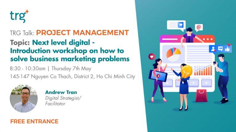 Project Management Event banner