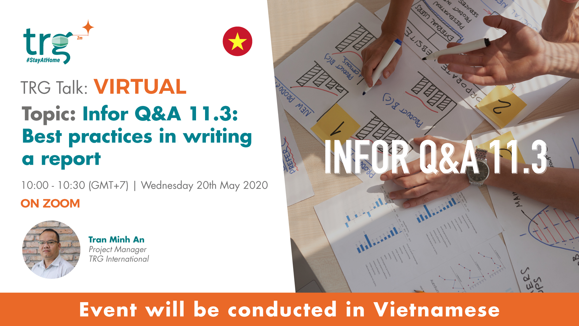 Infor Q&A 11.3: Best practices in writing a report 1