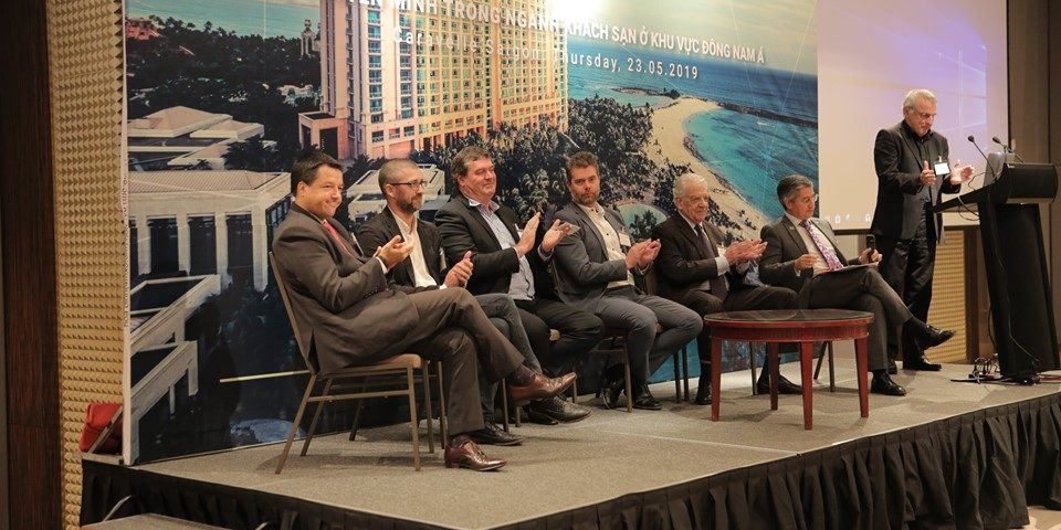 Panelist for Transformation in Hospitality Event in HCMC